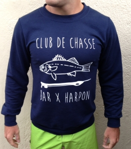 Pull chasse sous marine