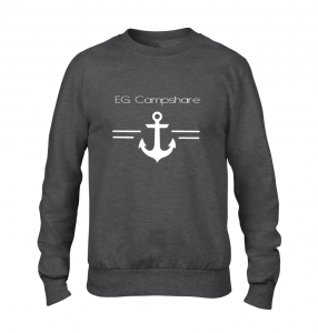 sweat ancre gris anthracite