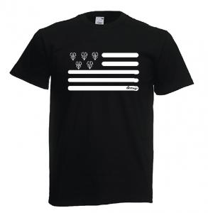 tshirt breton noir