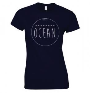 tshirt ocean femme