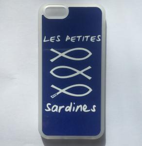 coque bleu sardines
